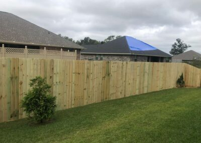 Privacy Fence 8'
